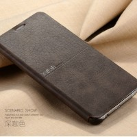 X-LEVEL EXREME Samsung note 5 S7 flat edge flip cover case leather hp
