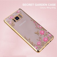 TPU FLOWER Samsung S8 edge S8+ Plus soft case casing back cover bumper