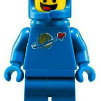 Lego Minifigures Series Movie Benny (1980 Something Space Guy)