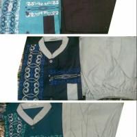 Stelan Baju Muslim Anak Laki/Stelan Koko Anak 1,2,3,4,5,6 Thn,Bordir
