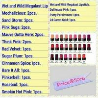 Jual Wet and Wild Megalast Lipstick Murah