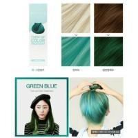 cat rambut korea semi permanen green blue aprilskin