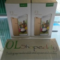 Hp Oppo F3 New Garansi Resmi 4G Triple-Slot Tray (RAM 4GB+ROM 64GB)