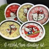 harga Jam Dinding Hello Kitty Tokopedia.com