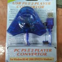 KONVERTER/KONVENTER STIK/STIK PS2/PS3 2 SLOT HARGA GROSIR