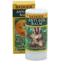 Badger anti-bug balm stick 42 gr. Pengusir nyamuk natural, no kimia.