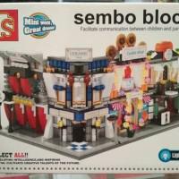 sembo block LED sd6540-43 Cloth Cookies HSBC Ceramic