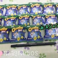 Magnet kulkas miniatur Cheetos net