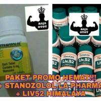 Paket Promo Hemat Stanozolol LA Pharma + Liv52 ( Stano + Liv.52 )