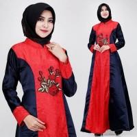 mewah velvet gamis maxy longdress xl muslimah baju lebaran pesta maxi