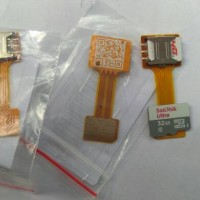 Dual Nano Sim Converter Extender Hybrid SD card slot Xiaomi