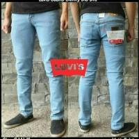 Jual Celana Jeans Slim Fit - Skinny Levis Biru Muda Murah