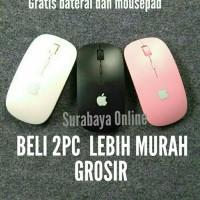 Jual mouse wireless slim mantab Murah
