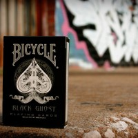 Bicycle Black Ghost Deck Kartu Card Import America Limited Remi