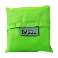 Jual  QCF Baggu Shopping Bag Reusable Tote Bag - Hijau  Murah