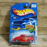 DIECAST HOT WHEELS 40 FORD COUPE 2002 FIRST EDITIONS COLLECTOR NO 024