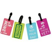 Label Koper Luggage Tag dengan Tulisan Unik untuk Travel
