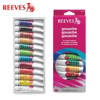 Reeves 12 Gouache Set