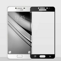 Samsung galaxy c7 full cover tempered glass