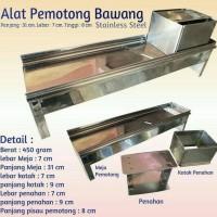 Jual Alat Pengiris Bawang/kentang/manual stainless steel(serbaguna) Murah