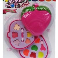 Mainan Make Up Set Strawberry Kado Anak Cewek Rias Kosmetik Bermain