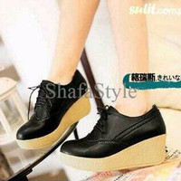 BARU!!! Sepatu Platform Wedges Wanita SDW75
