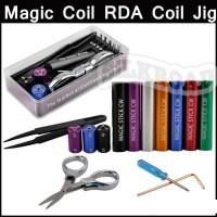 Magic Stick Coil Jig Vape Toolbox 6 in 1,kennedy,tm24,vapor,vape,vtc5