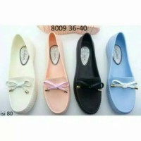 Sepatu Jelly Ribbon