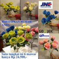 Jual bunga mawar / artificial flower / bunga plastik / bunga hias Murah