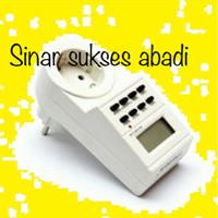 harga Stop Kontak Timer Digital Heles Tokopedia.com