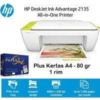 Printer HP Deskjet 2135 Multifungsi A4