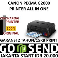 CANON PIXMA G2000 PRINTER ALL IN ONE
