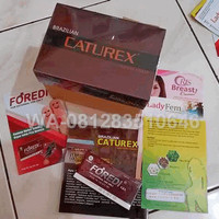 Obat Herba Kuat Laki Suplemen Pria Brazillian + Foredi ASLI Indonesia