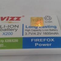 BATERAI,BATTERY,BATRE SAMSUNG X200/C3303 VIZZ DOUBLE POWER