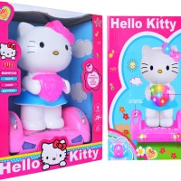 Jual MAINAN ANAK CEWEK / HELLO KITTY BUMP AND GO BALANCED CAR Murah