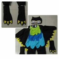 Sewa kostum animal burung hantu pentas anak