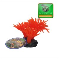 Ornamen Aquascape / Akuarium Bentuk Anemon Laut - 02