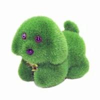 Jual Boneka Rumput palsu anjing Murah