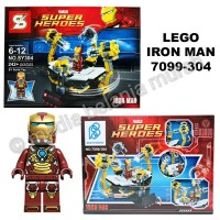 LEGO IRON MAN (242+ pcs) - MAINAN ANAK - MODEL KIT