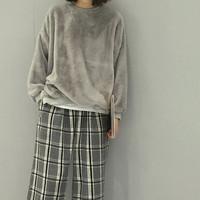 harga Sweater Bulu Tangan Panjang Cardigan Outer Jaket Blazer Top Tokopedia.com