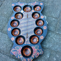 Jual Mainan Dakon Congklak Lubang 5 Kayu Batik Murah