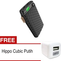 harga Hippo Powerbank 12000mah Noha2 Value Pack Free Kabel 2pcs ,charger Tokopedia.com