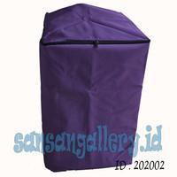 sarung mesin cuci warna polos ukuran besar 11 kg