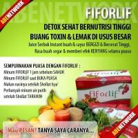 Jual FIFORLIF Herbal Cara Diet Aman Sentosa Bersihkan Detox Usus Utk Sehat Murah