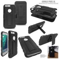 Ikat Pinggang Beltclip Hard Case with Rotary Kickstand Google Pixel XL