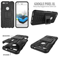 Heavy Duty Rugged Armor Stand Case Google Pixel XL