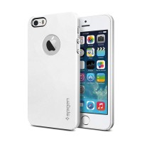Spigen SGP iPhone 5 Ultra Thin Air A - Smooth White [Packing Rusak]