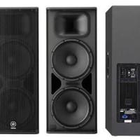 speaker 2 x 15 inch aktif yamaha DSR 215 original ( sepasang)