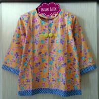 Jual Blazer Batik Keren (Kode BB MAPLE) Murah
