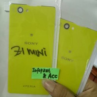 Tutup cover Z1 mini / Back cover Z1 compact warna lime